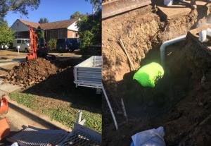 RVE Plumbing Residential Sewer Renewals